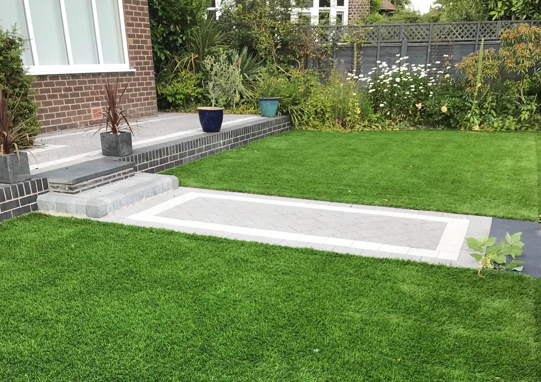 45mm Artificial Grass Lawn 5