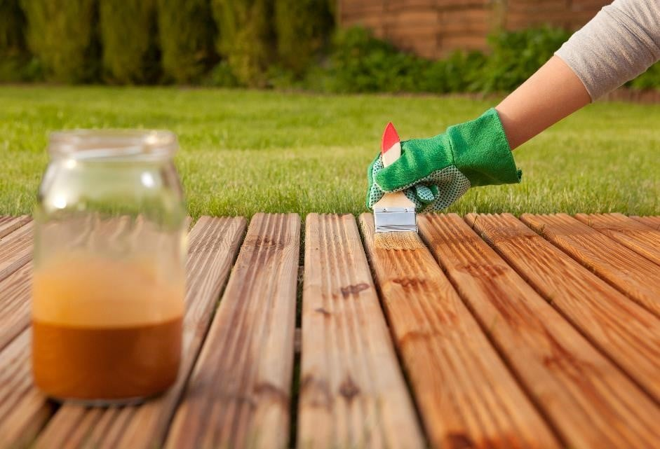 treating decking
