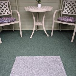 Speckled Grey Doormat