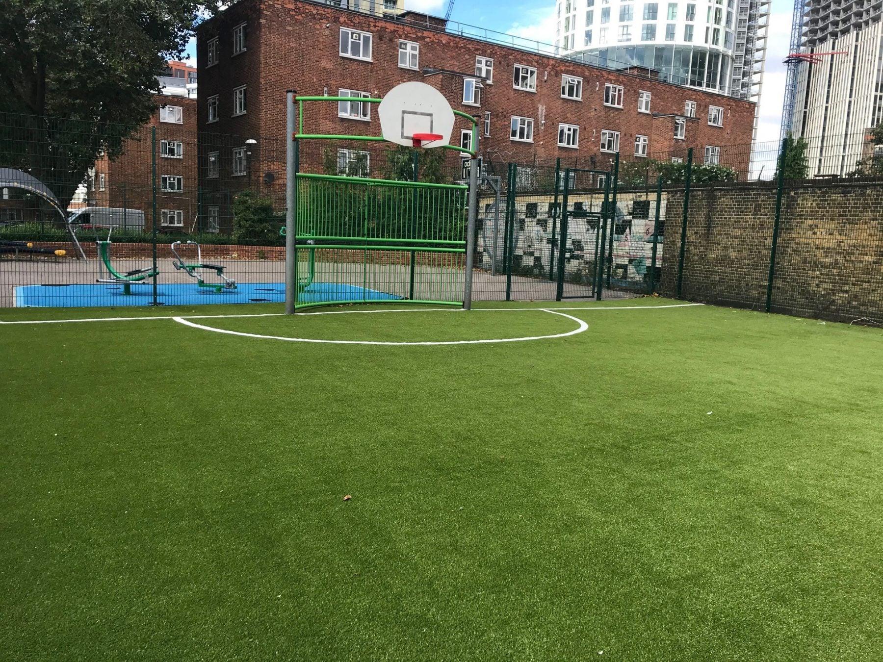 Wyvil Goal Area 2