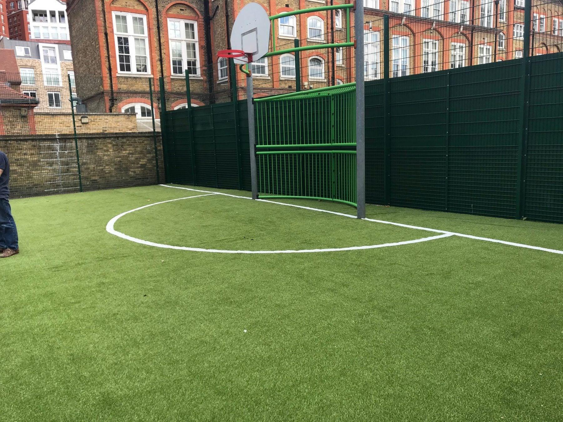 Wyvil goal area